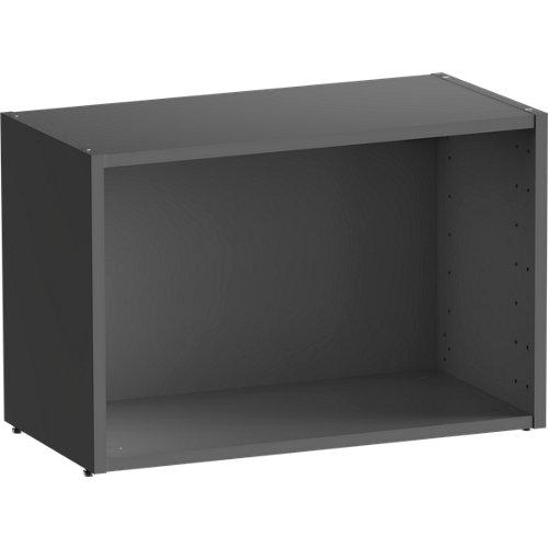 Librería estantería spaceo home gris 60x40x30 cm