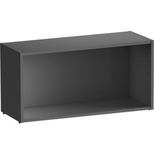 Librería estantería spaceo home gris 80x40x30 cm