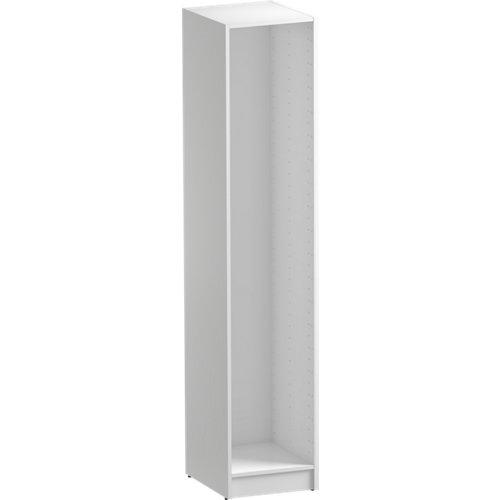 Módulo de armario spaceo home blanco 40x200x45 cm