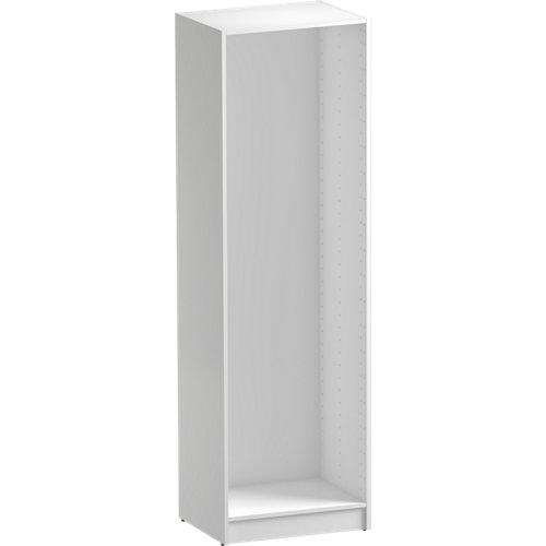 Módulo de armario spaceo home blanco 60x200x45 cm