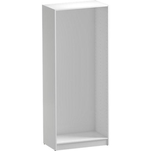 Módulo de armario spaceo home blanco 80x200x45 cm