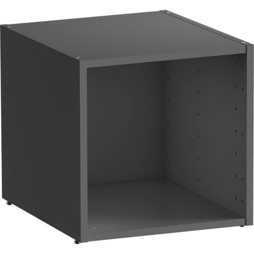 Módulo de armario spaceo home gris 40x40x45 cm