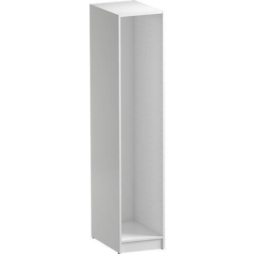 Módulo de armario spaceo home blanco 40x200x60 cm