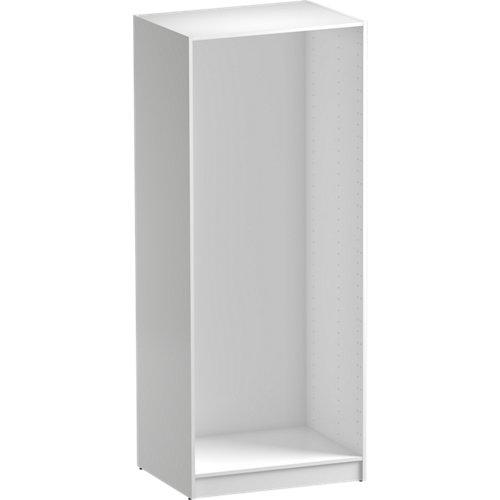 Módulo de armario spaceo home blanco 80x200x60 cm