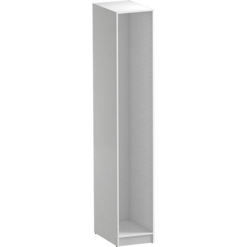 Módulo de armario spaceo home blanco 40x240x60 cm
