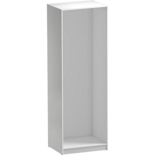Módulo de armario spaceo home blanco 80x240x60 cm