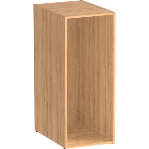 Módulo de armario spaceo home roble 40x100x60 cm