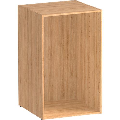 Módulo de armario spaceo home roble 60x100x60 cm