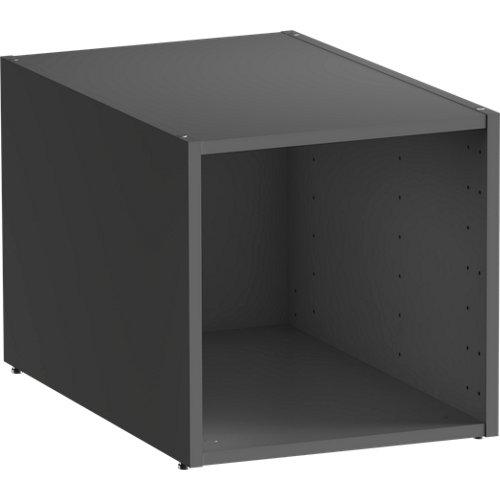 Módulo de armario spaceo home gris 40x40x60 cm