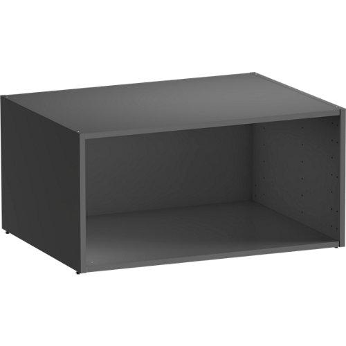 Módulo de armario spaceo home gris 80x40x60 cm