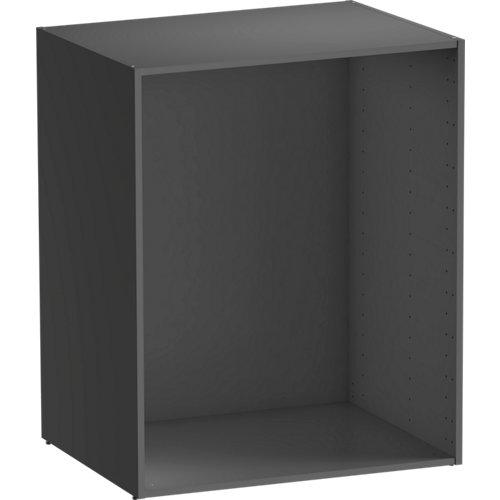 Módulo de armario spaceo home gris 80x100x60 cm
