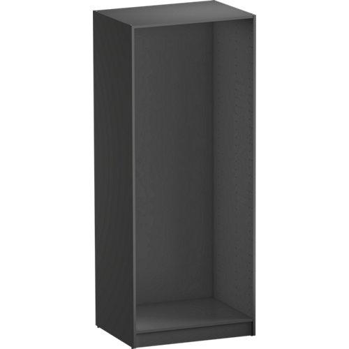 Módulo de armario spaceo home gris 80x200x60 cm