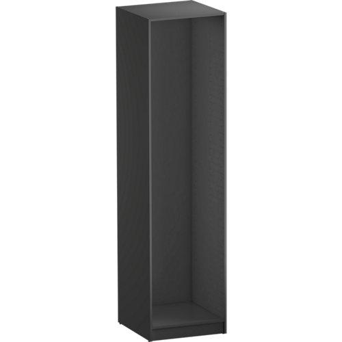 Módulo de armario spaceo home gris 60x240x60 cm