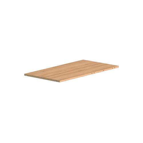 Balda para rincón para módulo de armario spaceo home roble 81.5x43x1.5cm