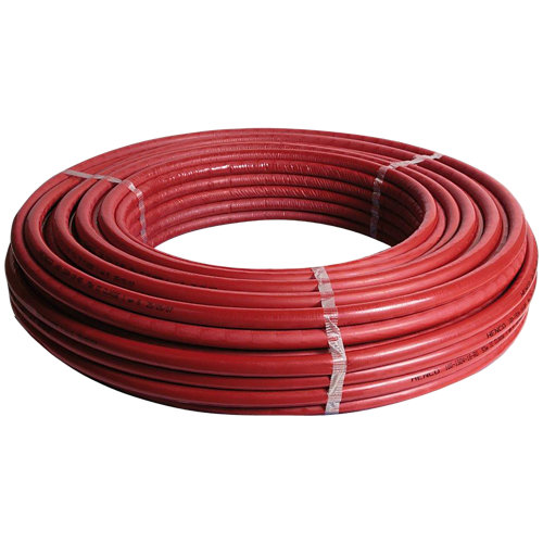 Rollo de tubo de multicapa 50 metros ø20 mm aislado rojo