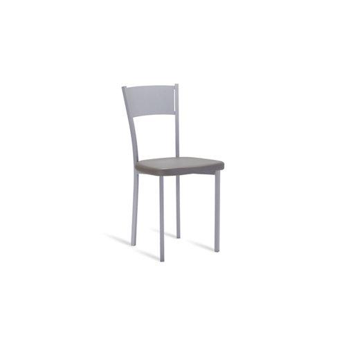 Silla de cocina portus limao asiento gris