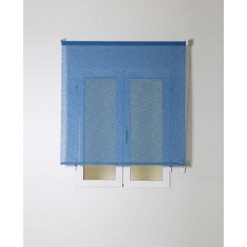 Estor enrollable rustipol azul 120/124x250cm