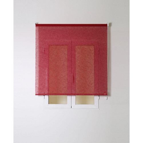 Estor enrollable rustipol rojo 120/124x250cm