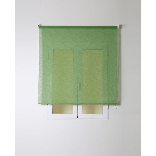 Estor enrollable rustipol verde 150/154x250cm