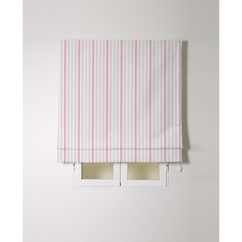 Estor plegable alvar rosa 90x175cm