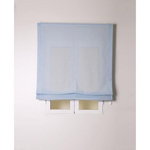 Estor plegable bari azul cielo 90x175cm