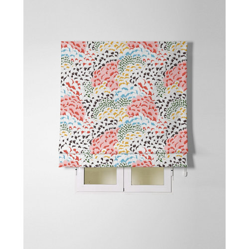 Estor plegable kabuki coral 135x175cm