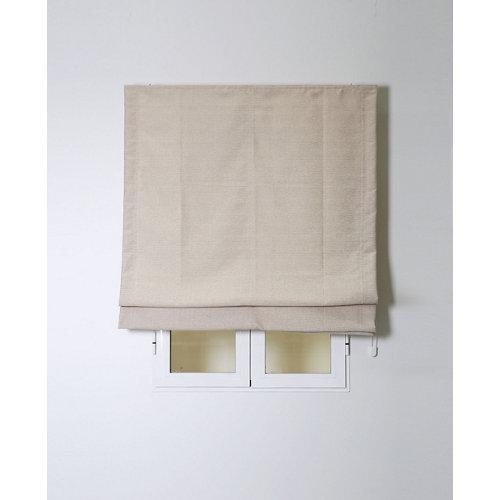 Estor plegable oslo beige 75x175cm