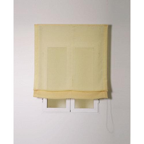 Estor plegable rustipol amarillo 105x250cm