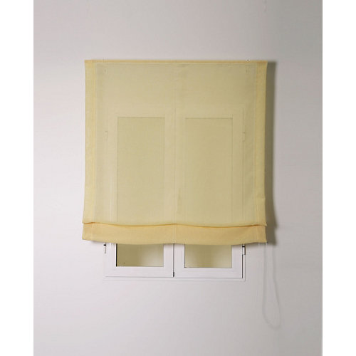 Estor plegable rustipol amarillo 120x250cm