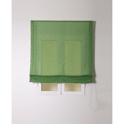 Estor plegable rustipol verde 105x250cm