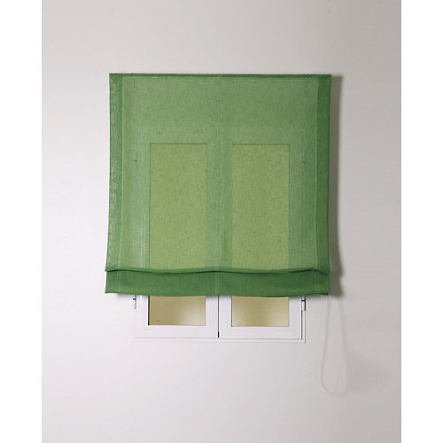 Estor plegable rustipol verde 75x250cm