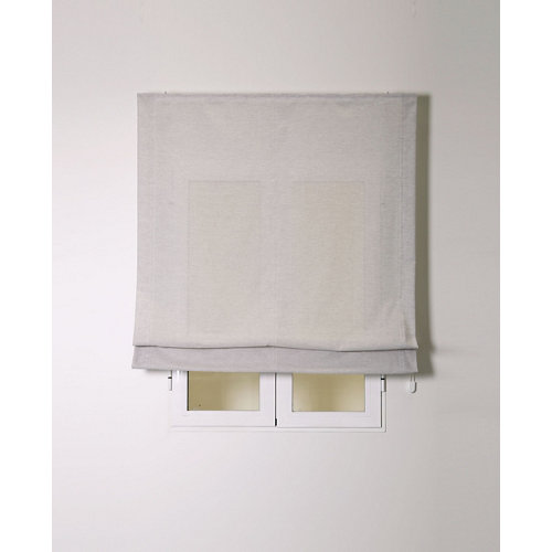 Estor plegable siena gris 105x175cm