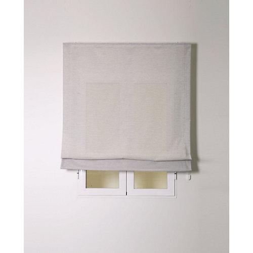 Estor plegable siena gris 90x250cm