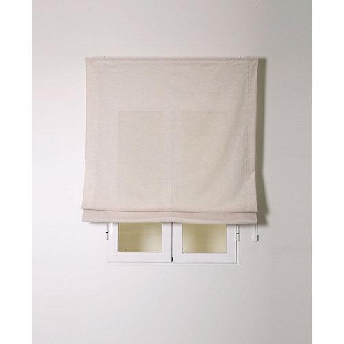 Estor plegable siena natural 120x175cm