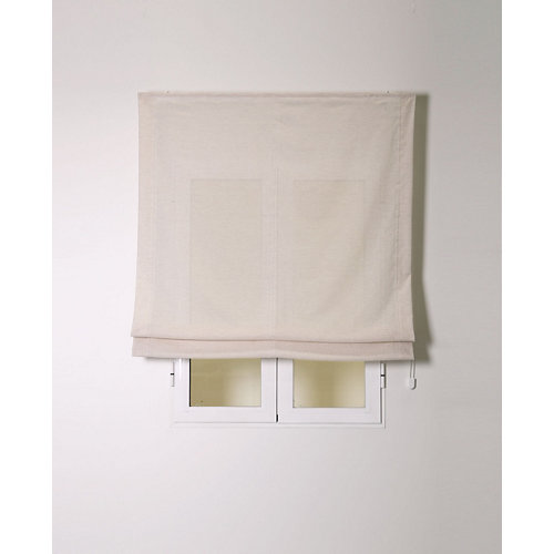 Estor plegable siena natural 75x250cm