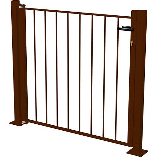 Kit puerta briconadal 116x93,5 cm óxido