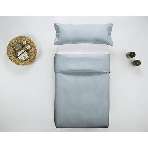 Funda nórdica cama 105cm percal liso sky w.g.
