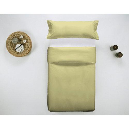 Funda nórdica cama 105cm percal liso yellow w.g.