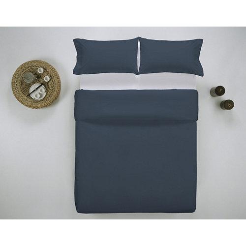 Funda nórdica cama 180cm percal liso noche w.g.
