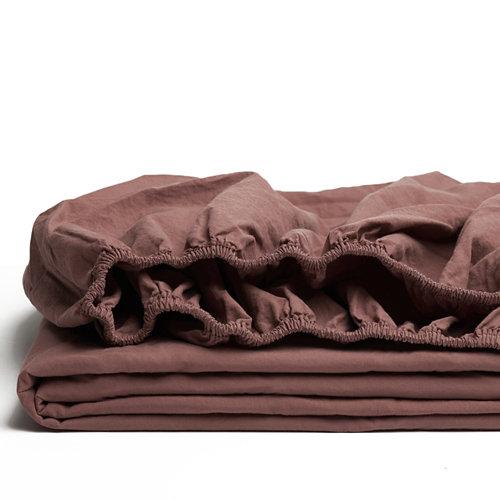 Sabana bajera ajustable cama 90cm percal liso sky w.g.