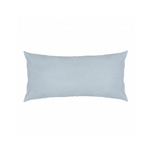 Funda almohada 45x125 percal liso cama 135cm sky w.g.