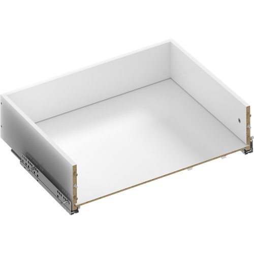 Kit cajón exterior para módulo de armario spaceo home 60x20x45cm
