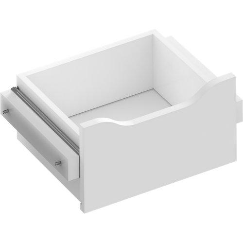Kit cajón interior para módulo de armario spaceo home blanco 40x16x30 cm