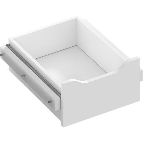 Kit cajón interior para módulo de armario spaceo home blanco 40x16x45 cm