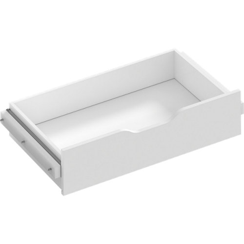 Kit cajón interior para módulo de armario spaceo home blanco 80x16x45 cm