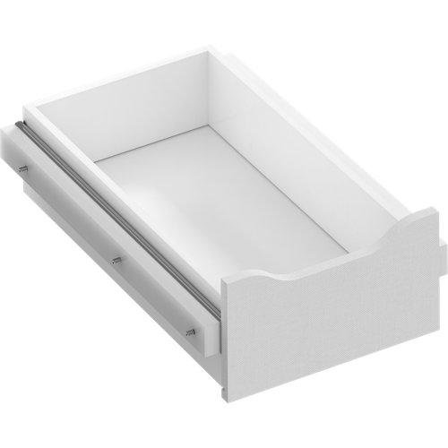 Kit cajón interior para módulo de armario spaceo home textil 40x16x60 cm