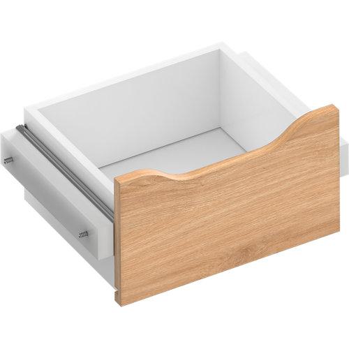 Kit cajón interior para módulo de armario spaceo home roble 40x16x30 cm