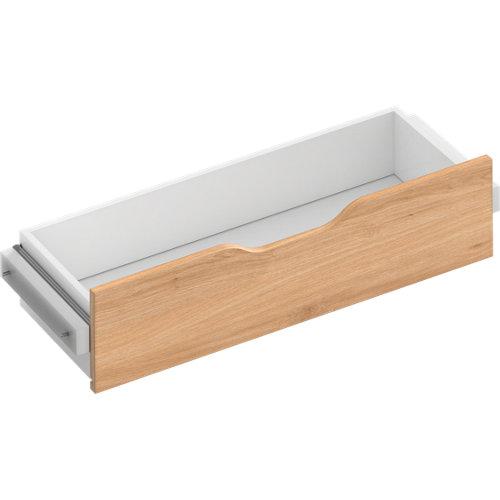 Kit cajón interior para módulo de armario spaceo home roble 80x16x30 cm