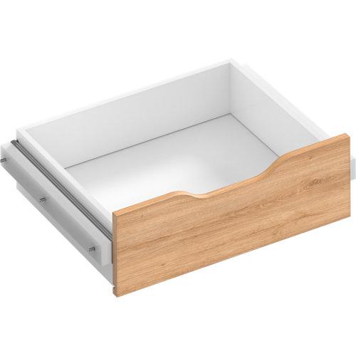 Kit cajón interior para módulo de armario spaceo home roble 60x16x45 cm