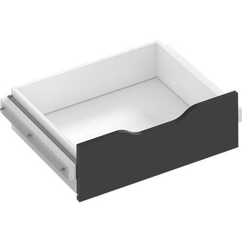 Kit cajón interior para módulo de armario spaceo home gris 60x16x45 cm